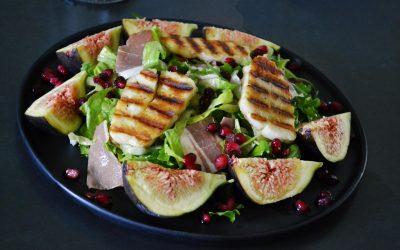 Salata cu haloumi